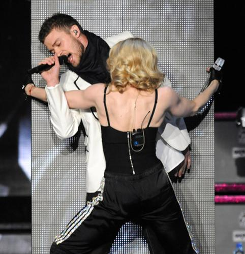 Madonna JT Together Again